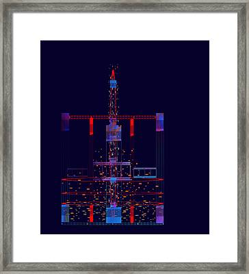 Penman Original - Untitled 97 Framed Print by Andrew Penman