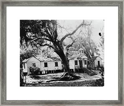 Penn School, 1862 Framed Print by Granger