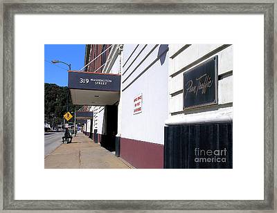 Penn Traffic Bldg - Johnstown Pa Framed Print