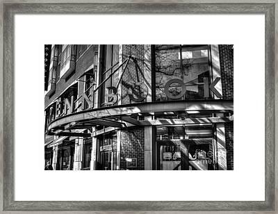 Penn University Bookstore Framed Print by Mark Ayzenberg