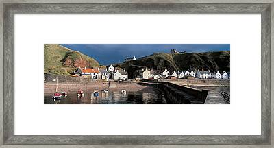 Pennan Banffshire Scotland Framed Print by Panoramic Images