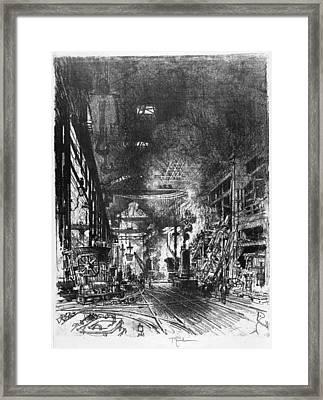 Pennell Furnaces, 1916 Framed Print by Granger