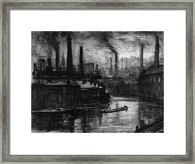 Pennell London, 1908 Framed Print