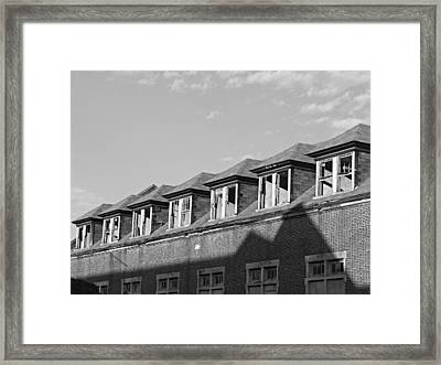 Pennhurst 3 Framed Print by Brenda Conrad