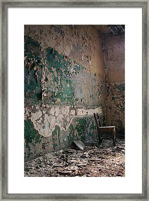 Pennhurst Green Room With Chair Framed Print
