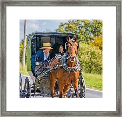 Pennsylvania Amish 2 Framed Print