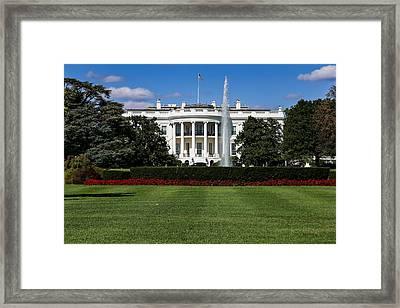 Pennsylvania Avenue Framed Print