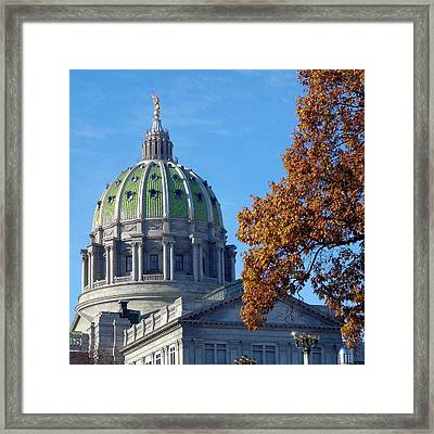 Pennsylvania Capitol Building Framed Print