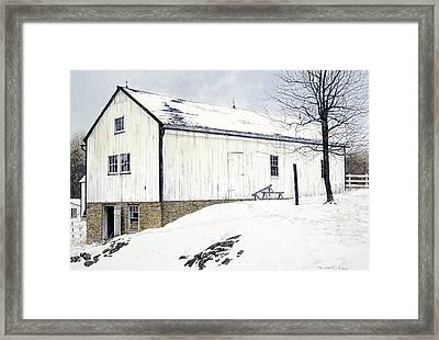 Framed Print featuring the painting Pennsylvania Dutch by Tom Wooldridge