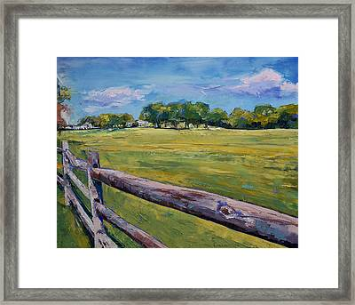 Pennsylvania Farm Framed Print by Michael Creese