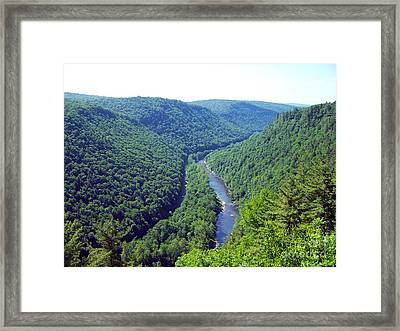 Pennsylvania Grand Canyon 2 Framed Print