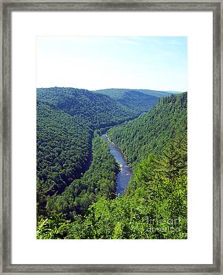 Pennsylvania Grand Canyon 3 Framed Print