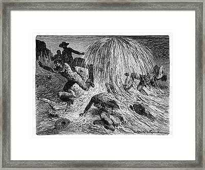 Pennsylvania Oil Rush Framed Print