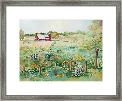 Pennsylvania Pasture Framed Print