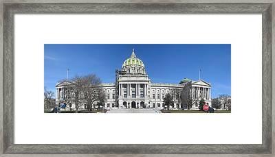 Pennsylvania State Capitol Framed Print