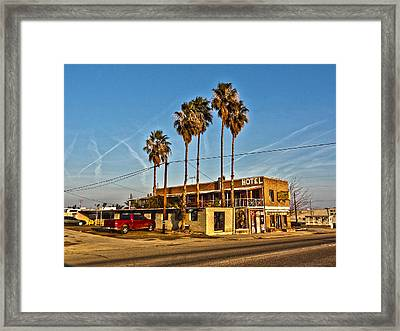 Framed Print featuring the photograph Penny Bar Mckittrick California by Lanita Williams