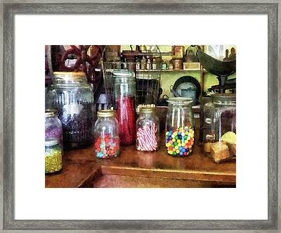 Penny Candies Framed Print