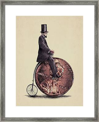 Penny Farthing Framed Print by Eric Fan