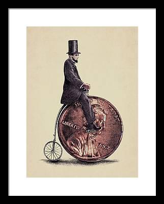 Lincoln Framed Prints