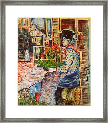 Penny Lane Framed Print by Mindy Newman