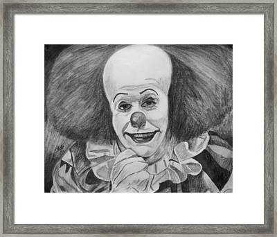 Pennywise Framed Print by Jeremy Moore