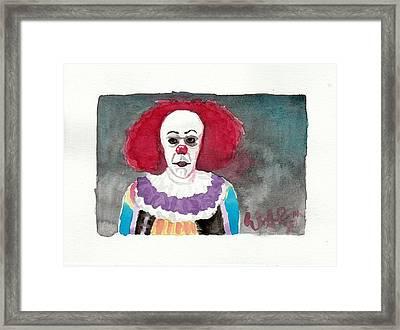Pennywise Framed Print