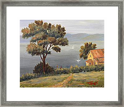 Penobscot Bay Maine Framed Print by Tommy Thompson