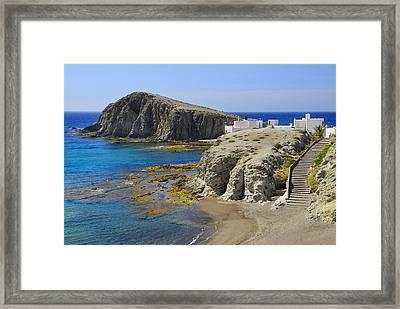 Penon Del Moro Beach Framed Print by Guido Montanes Castillo