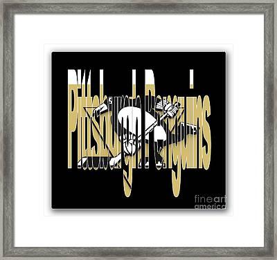 Penquins Original Art Framed Print by Marvin Blaine