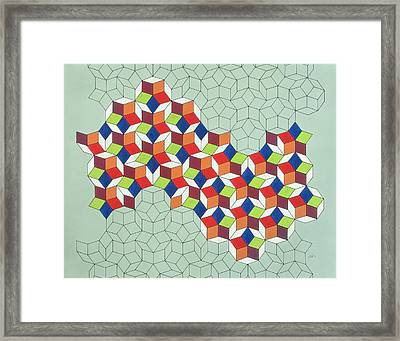Penrose's Conundrum Framed Print by Peter Hugo McClure
