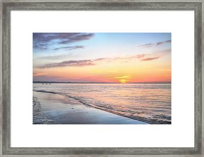 Pensacola Bay Serenity Framed Print by JC Findley