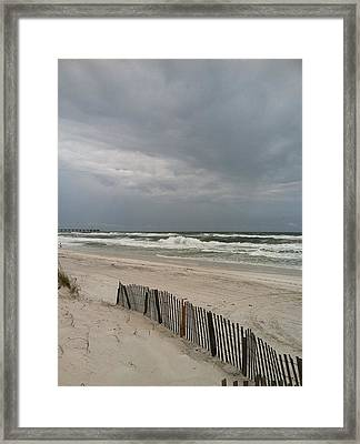 Pensacola Beach Florida Framed Print