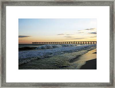 Pensacola Evening Framed Print by Greg and Chrystal Mimbs