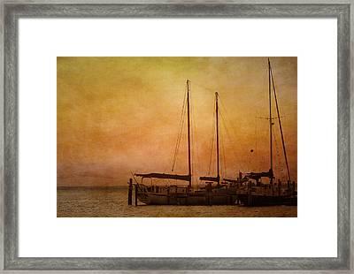Pensacola Harbor Framed Print