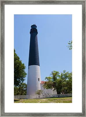 Pensacola Lighthouse Framed Print