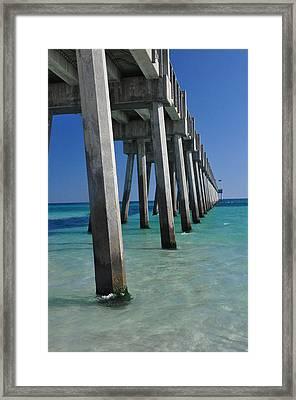 Pensacola Pier Framed Print