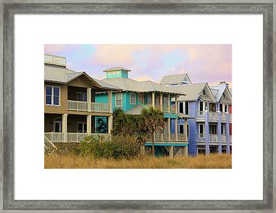Pensacola Style Framed Print