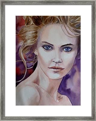 Raw Beauty Framed Print