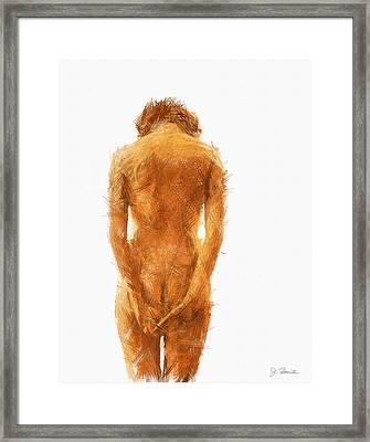 Pensive No. 2 Framed Print by Joe Bonita