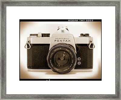 Pentax Spotmatic IIa Camera Framed Print