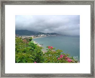 Penthouse View - Puerto Vallarta Framed Print