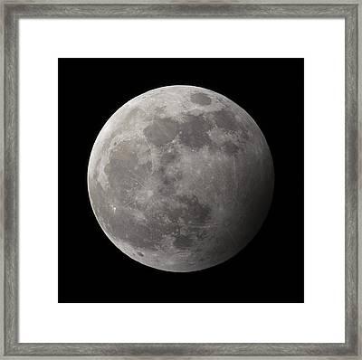 Penumbral Lunar Eclipse Framed Print