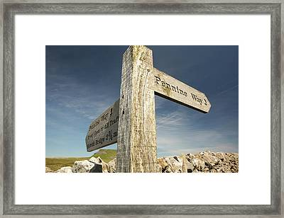 Penyghent In The Yorkshire Dales Framed Print