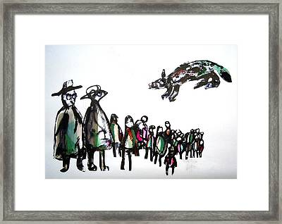 People 120913-1 Framed Print by Aquira Kusume
