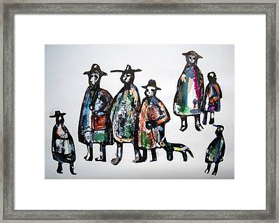 People 120913-2 Framed Print by Aquira Kusume