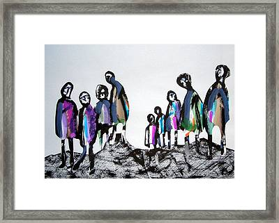 People 120913-3 Framed Print by Aquira Kusume