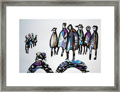People 120913-4 Framed Print by Aquira Kusume