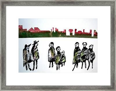 People 120913-5 Framed Print by Aquira Kusume