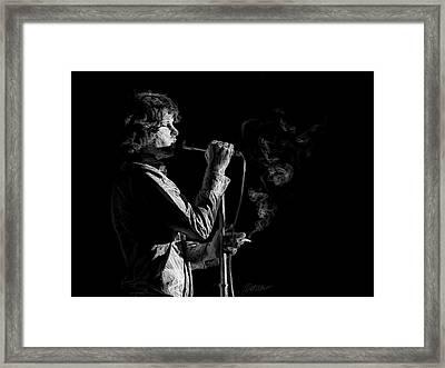 People Are Strange Framed Print by Marina Likholat