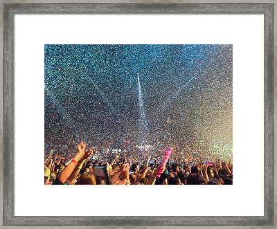 People At Concert Framed Print by Kevin Ocampo / Eyeem